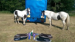 British TREC Champs_ Bev and Steph1